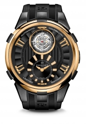 Perrelet Tourbillon Black & Gold Limited Edition