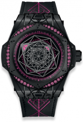 Hublot Big Bang Sang Bleu All Black Ping 39mm