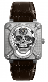 Bell & Ross Instruments BR 01 Laughing Skull Full Diamond 46 mm BR01-SKULL-SK-FLD