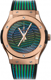 Hublot Classic Fusion Cruz Diez King Gold 45 mm 511.OX.8900.VR.CZD19