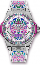 Hublot Big Bang One Click Calavera Catrina Steel 39 mm 465.SX.2090.VR.1299.MEX18