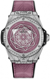 Hublot Big Bang One Click Sang Bleu Steel Pink Diamonds 39 mm 465.SS.89P7.VR.1204.MXM20