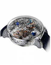 Jacob & Co Grand Complication Masterpieces Astronomia Meteorite Triangle Diamonds AT800.30.HD.HD.A