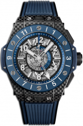 Hublot Big Bang Unico GMT Carbon Blue Ceramic 45 mm 471.QL.7127.RX