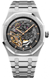 Audemars Piguet Royal Oak Double Balance Wheel Openworked 41 mm 15407ST.OO.1220ST.01