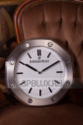 Настенные часы Audemars Piguet Royal Oak White Dial