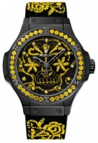 Hublot Big Bang Broderie Sugar Skull Fluo Hot Sunflower