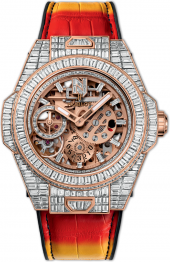 "Hublot Big Bang Meca-10 ""Nicky Jam"" High Jewellery 45 mm 414.OX.9101.LR.9904.NJA18"