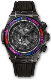 Hublot Big Bang Unico All Black Sapphire Galaxy 45mm
