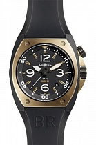 BELL & ROSS BR 02-92 Marine Pink Gold