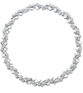 Колье Tiffany Paper Flowers Diamond Cluster Necklace 61624759