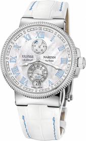 Ulysse Nardin Marine Chronometer Lady Manufacture 43 mm 1183-126B/430