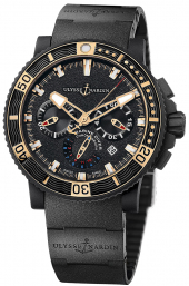 Ulysse Nardin Marine Diver Black Sea Chronograph 45 mm 353-90-3C