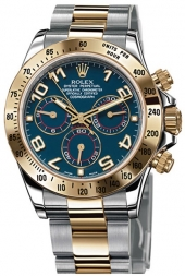 Rolex Cosmograph Daytona with Blue Arabic Dial