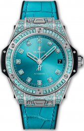 Hublot Big Bang One Click White Gold Paraiba 39 mm 465.WX.897T.LR.0919