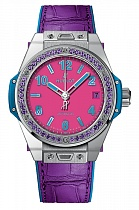 Hublot Big Bang One Click Pop Art Steel Purple