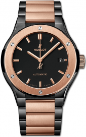 Hublot Classic Fusion Ceramic King Gold Bracelet 45 mm 510.CO.1180.CO