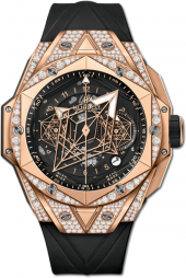 Hublot Big Bang Sang Bleu II King Gold Pave 45 mm 418.OX.1108.RX.1604.MXM20