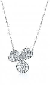 Подвеска Tiffany Paper Flowers Pavé Diamond Flower Pendant 61626077