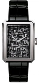 Chanel Boy-Friend Tweed Watch H6128