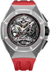 Audemars Piguet Royal Oak Concept Tourbillon Chronograph Openworked Selfwinding 44 mm 26587TI.OO.D067CA.01