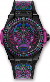 Hublot Big Bang One Click Calavera Catrina Black Ceramic 39 mm 465.CX.1190.VR.1299.MEX18