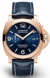 Panerai Luminor Marina Goldtech Sole Blu 44 mm PAM01112