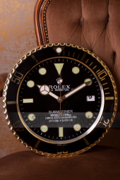 Настенные часы Rolex Submariner Black Dial