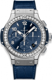Hublot Big Bang Steel Blue Diamonds 41 mm 341.SX.7170.LR.1204