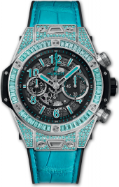 Hublot Big Bang Unico White Gold Paraiba 42 mm 411.WX.1179.LR.0919