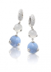 СЕРЬГИ PASQUALE BRUNI SISSI ICE BLUE АРТИКУЛ: 15540B