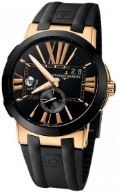 Ulysse Nardin Executive Dual Time Gold