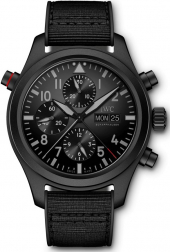 IWC Pilot's Watch Double Chronograph Top Gun Ceratanium 44 mm IW371815